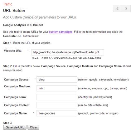 Cum personalizez un URL